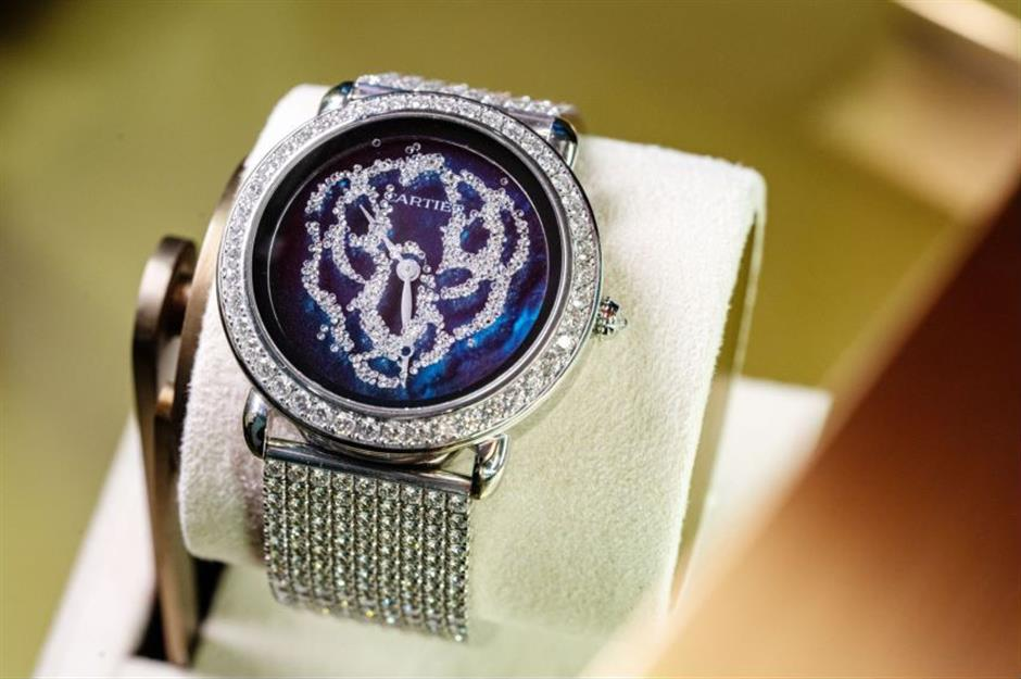 Cartier presents latest innovations at city show
