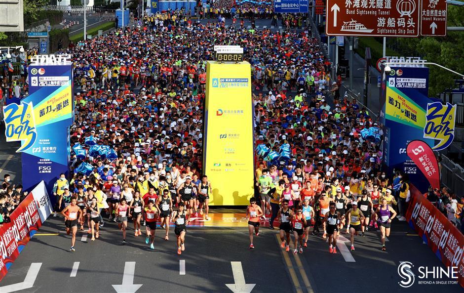 Theyre off, half marathon returns with 6,000 runners