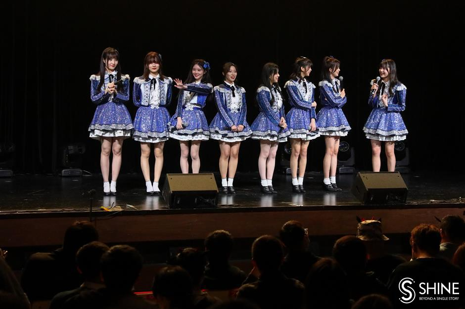 Shanghai girl group wants to be your idols