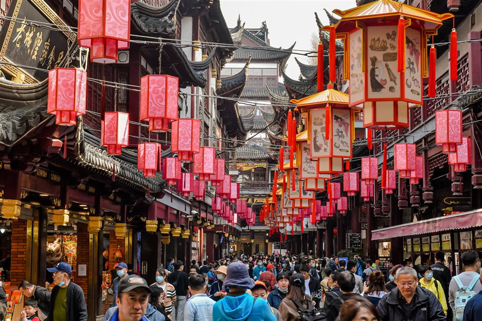 Yuyuan Garden has culture and arts festival down to a tea