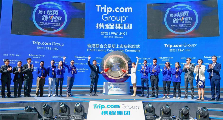 Trip.com becomes first dual listed tourism company