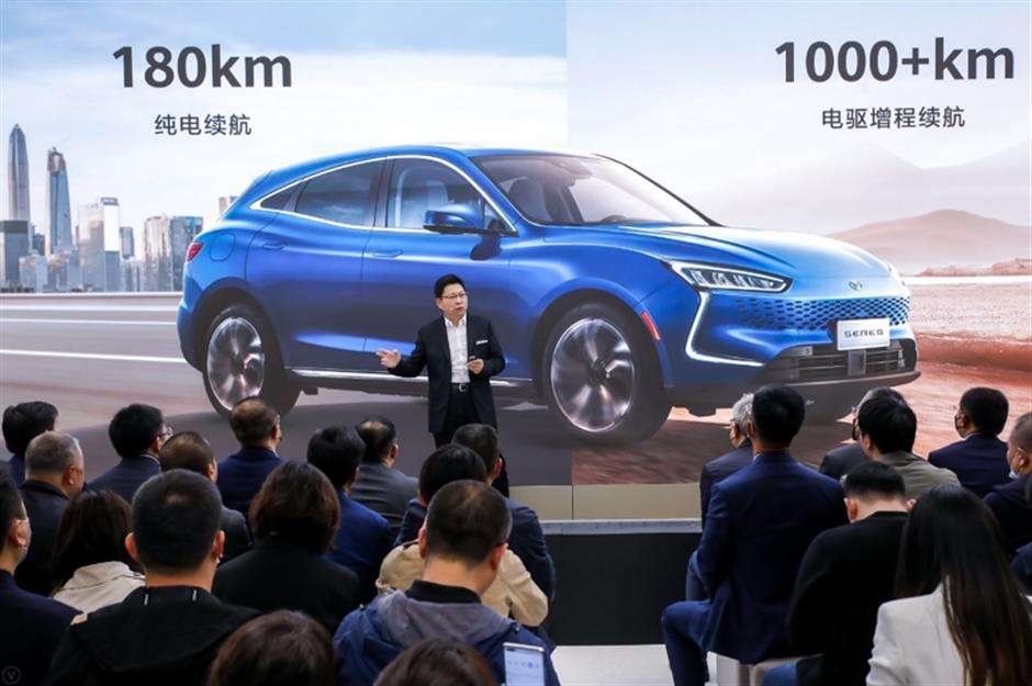 Tech giants taps into auto industry at city show