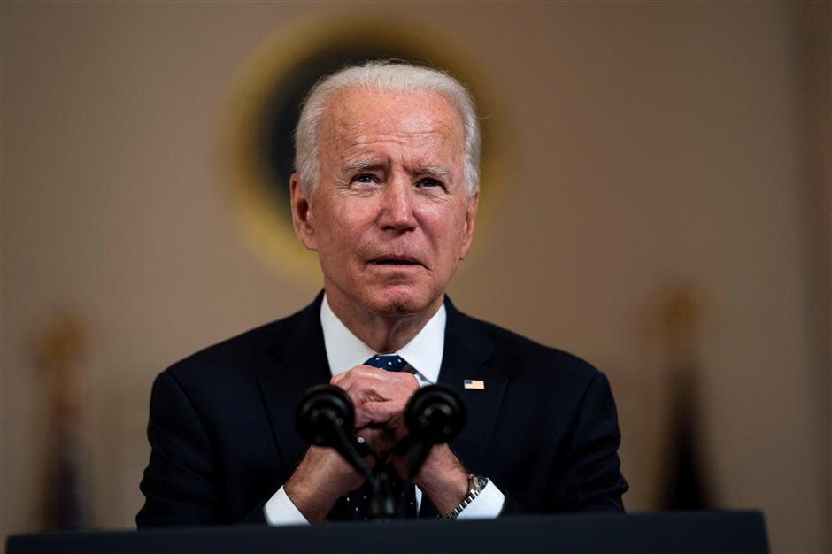 Biden calls systemic racism a stain on our nations soul