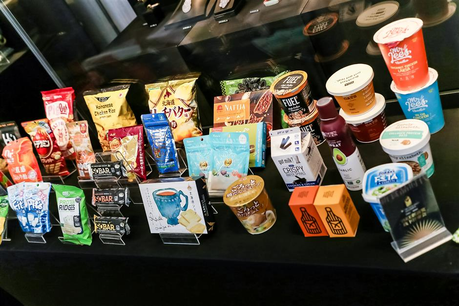 City shops ready to woo customers with latest food products from around world