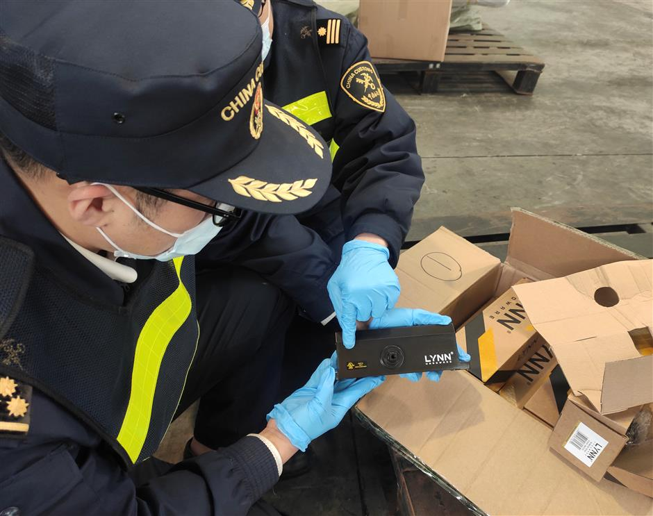 Customs takes effective action on fake goods
