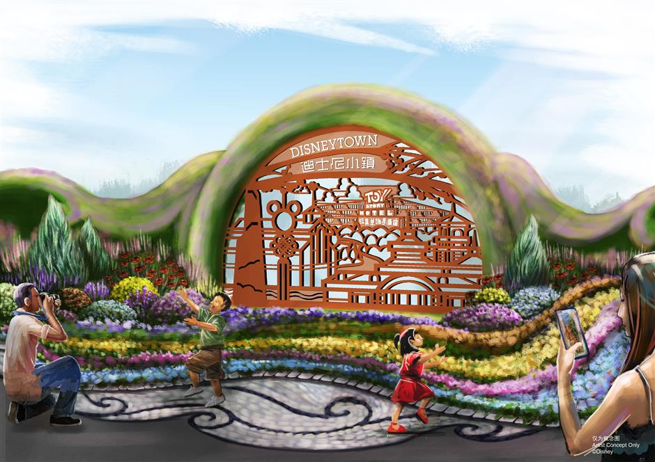 Floral art melds with Disney fantasy at upcoming flower expo