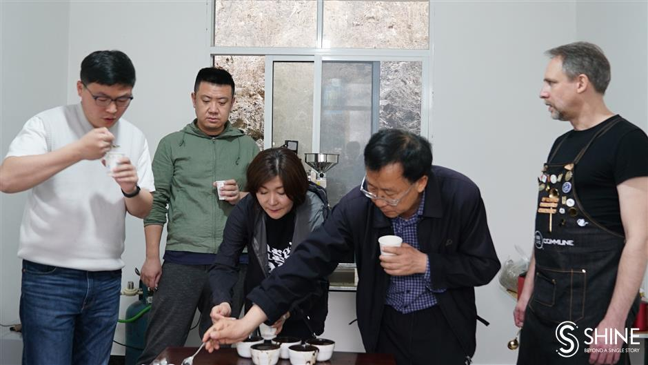 Farms in remote mountains fill Shanghais coffee cups
