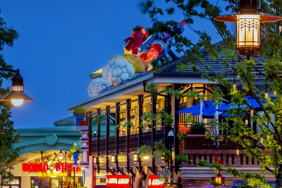 Disneytown goes all out for 5th birthday