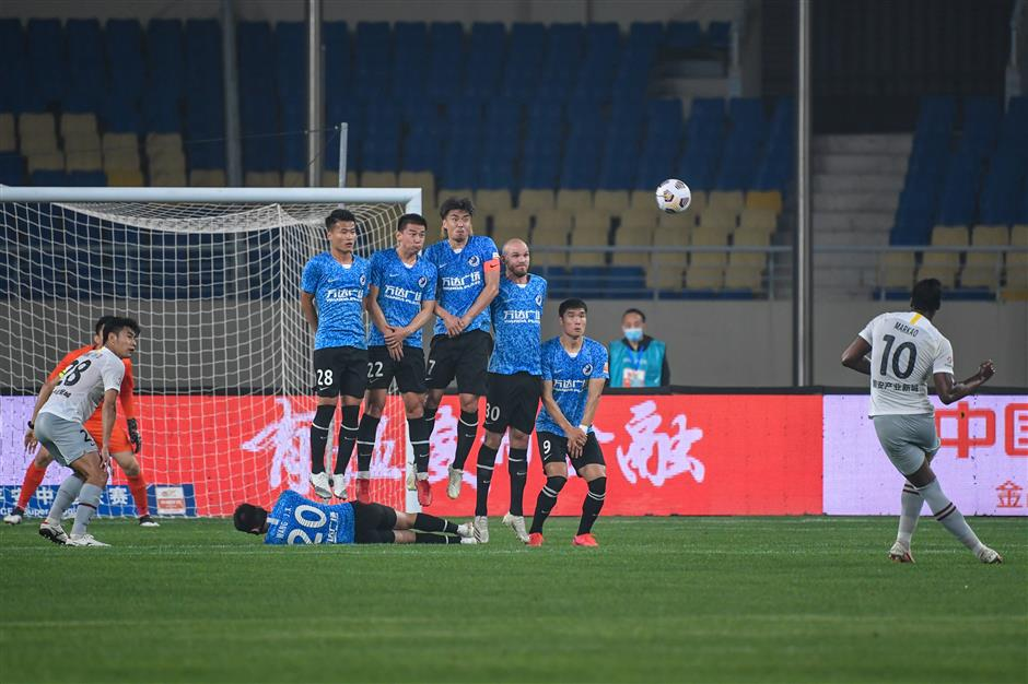 Bilic beaten again after 45-second goal by Shanghai Port