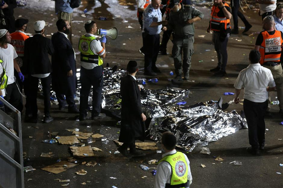 At least 44 killed in stampede at mass Jewish festival in northern Israel