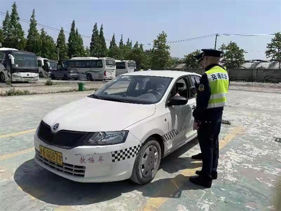 Illegal driver-training courses shut down