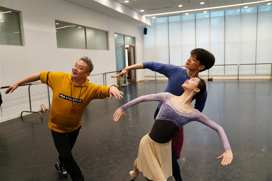 A tribute in ballet to the Yanan Spirit