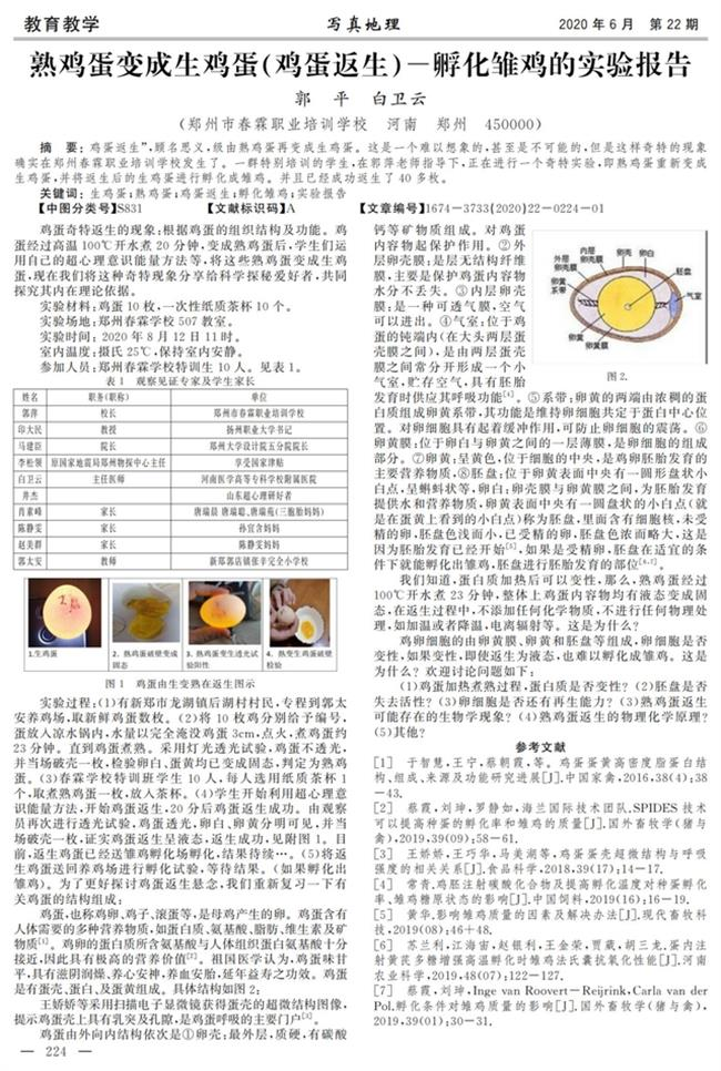 Journal shutoverboiled-eggs-back-to-raw claim