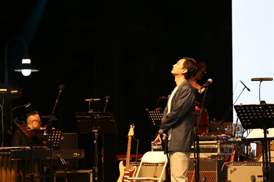 Jingan outdoor jazz festival hits the right note