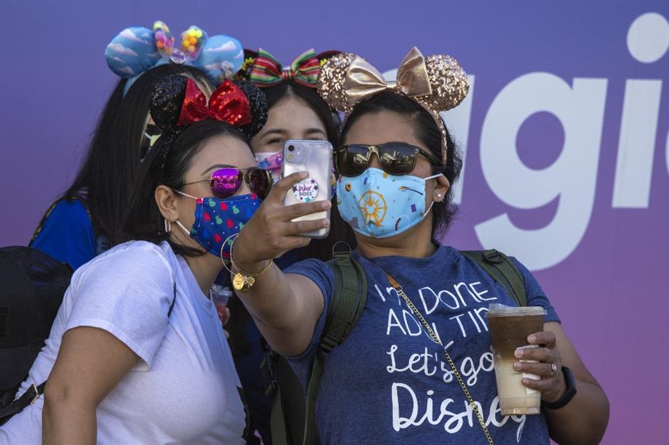 Disneyland fans hail greatest feeling ever as theme park finally reopens