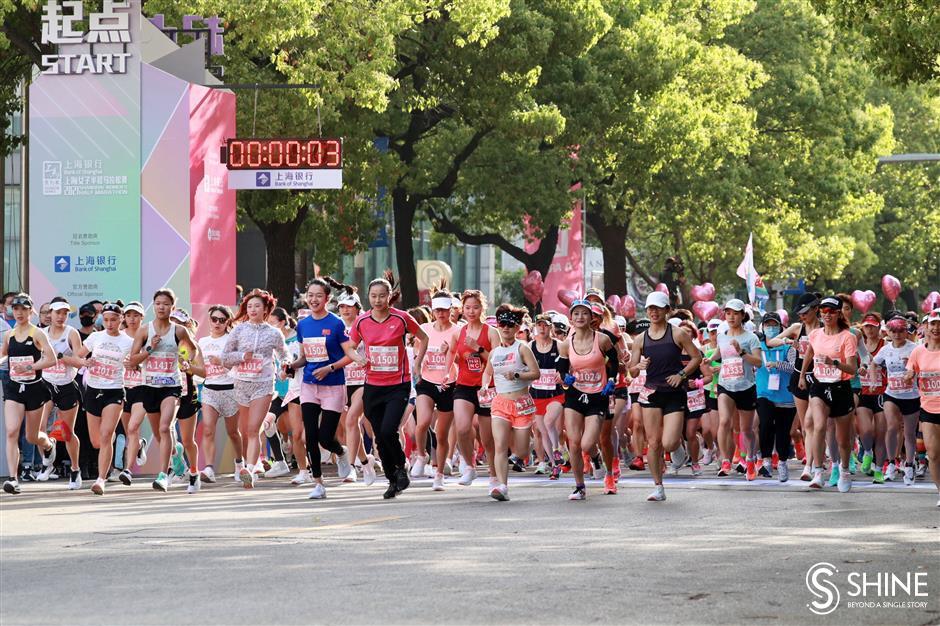 Making all the running in womens half marathon