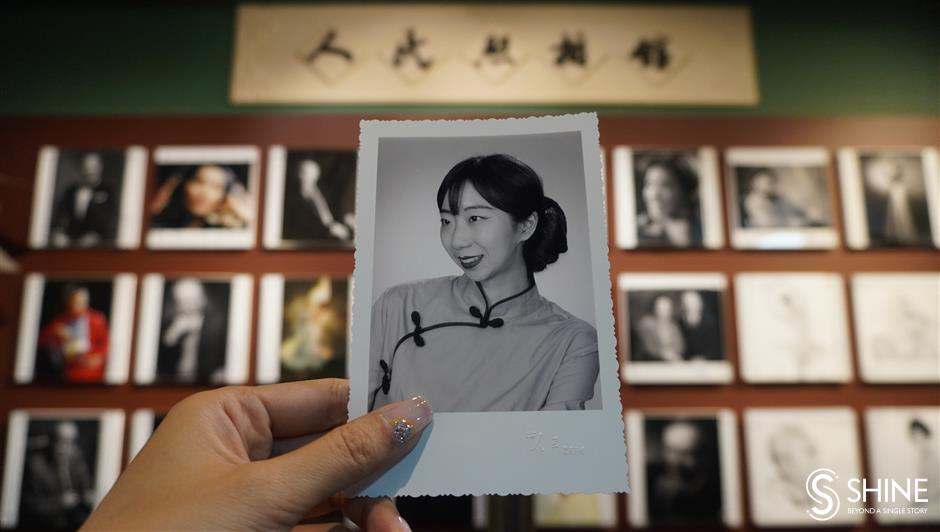 Recreating Shanghai of yesteryear with vintage portrait photos