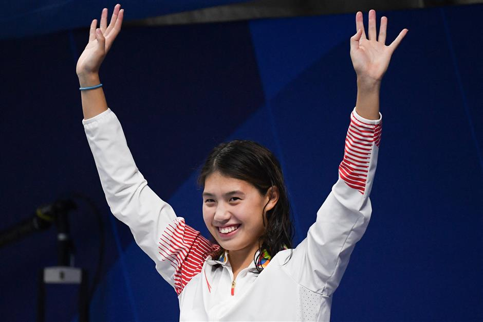 New butterfly queen boosts Chinas Olympic swimming hopes