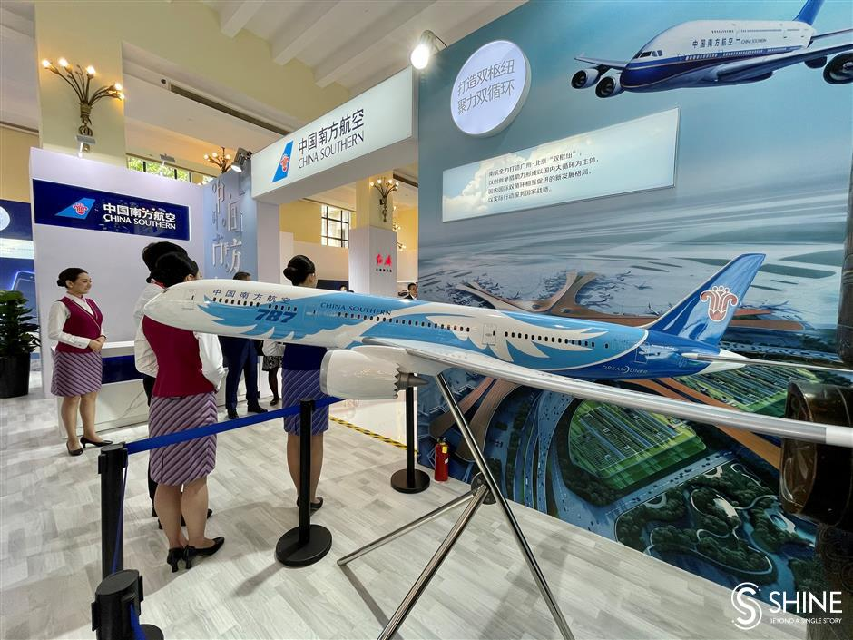 Airline showcases reliability on China Brand Day