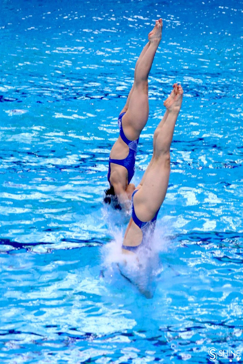 National divers making a splash in Pudong