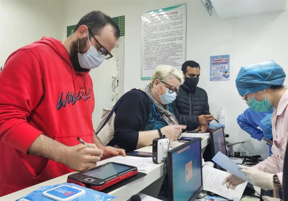 Local expats now allowed to book their vaccinations