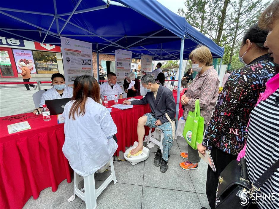 Free medical services mark International Nurses Day