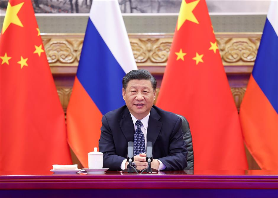 Xi, Putin witness launch of joint nuclear energy project, high-quality China-Russia cooperation boosted