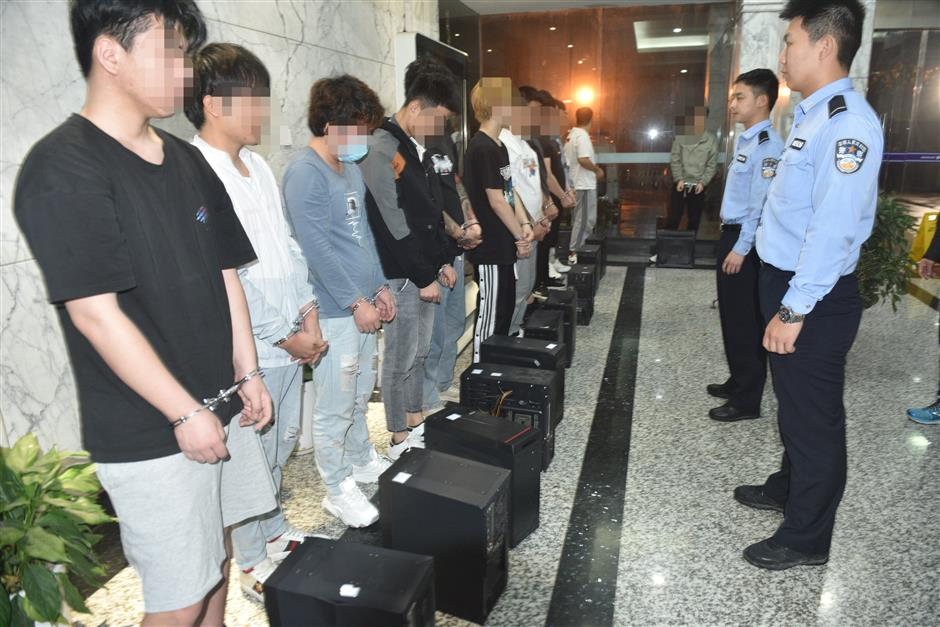 Over 200 livestreaming fraud suspects caught