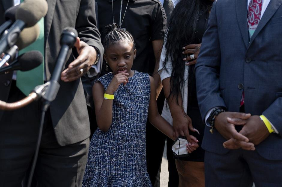 George Floyd family urges police reform on anniversary of murder