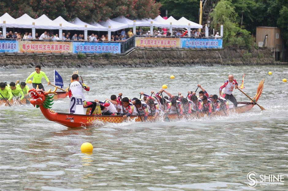 Dragon boat races set to return to Suzhou Creek
