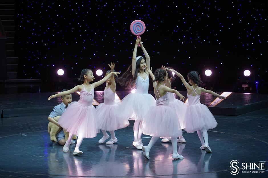 Dancers in step with Shanghai Children's Foundation anniversary
