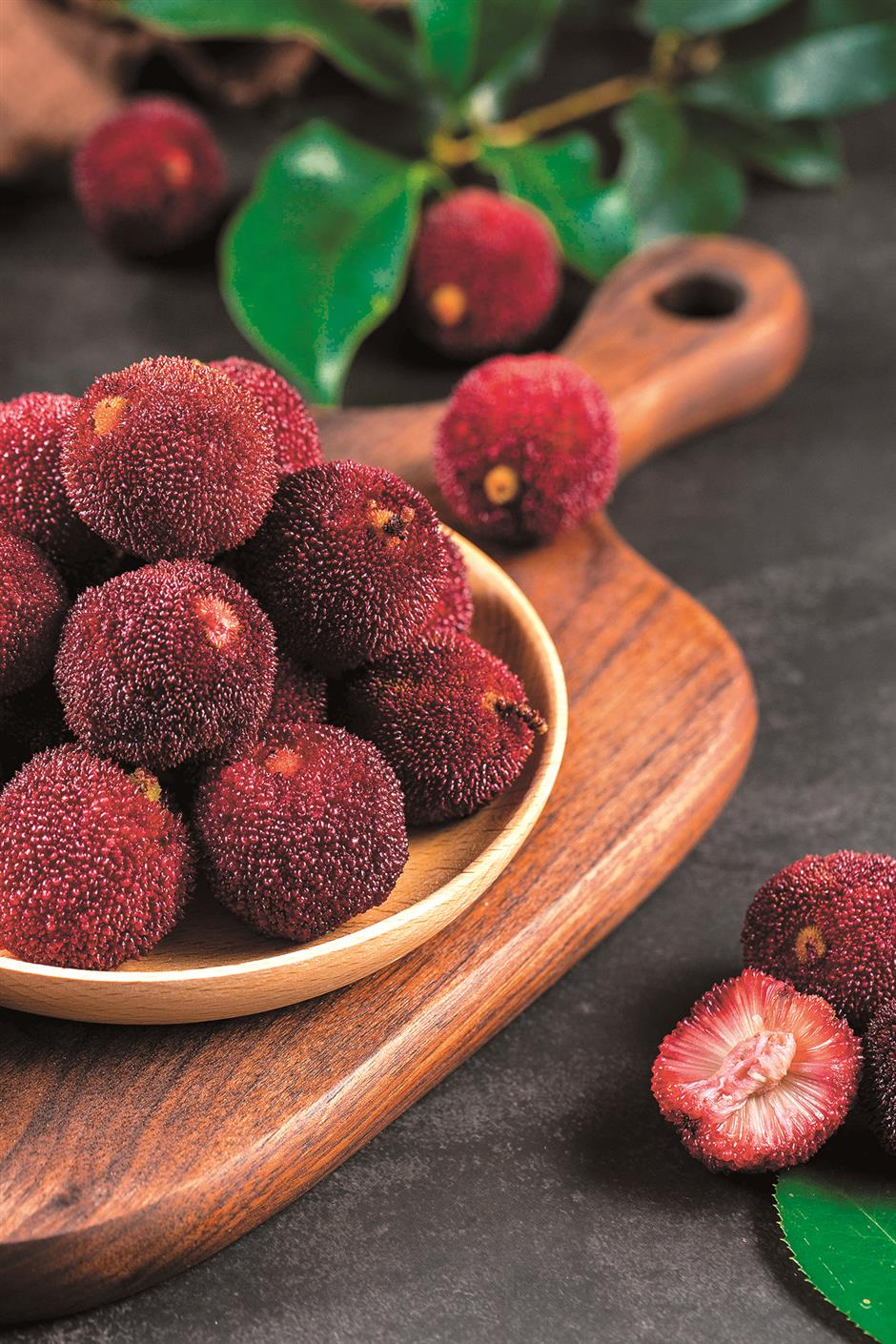Get ready for summer fruits: don't mind the smell, just taste it