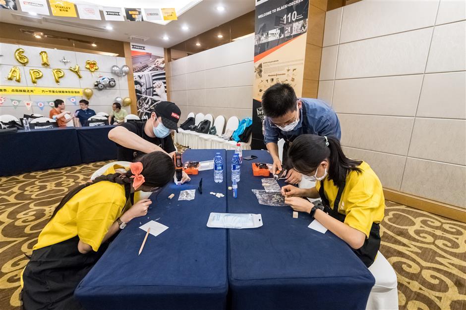 WorldSkills event teaches children new skills