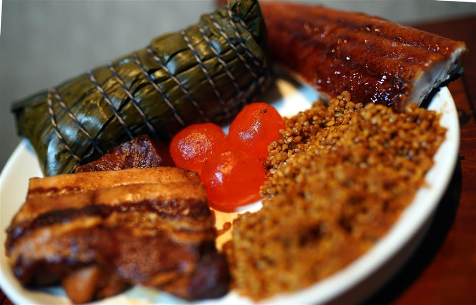 Traditional snack signals the advent of the Dragon Boat Festival
