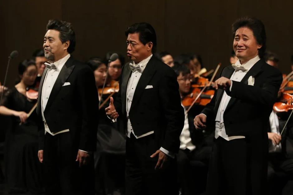 'China's Three Tenors' to perform in vocal series