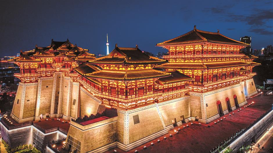 China's only empress' wooden 'Palace of the God of Everything'