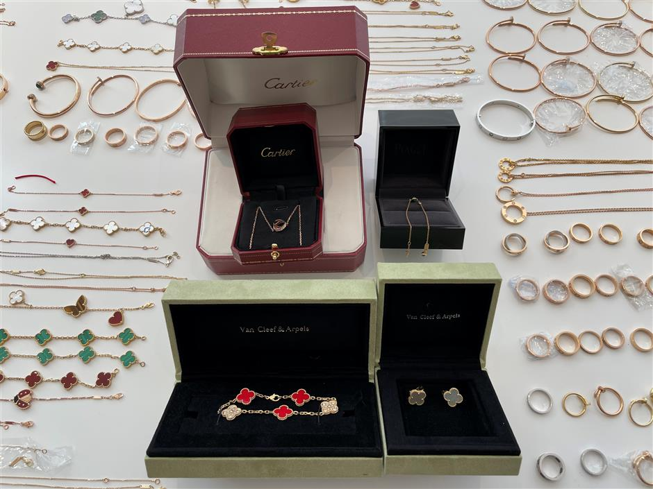 24 arrested after fake luxury jewelry investigation