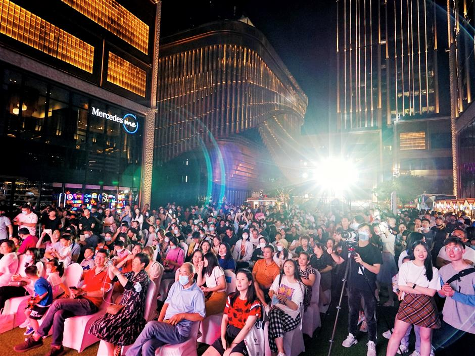 Music festival presents diverse array of interactive events