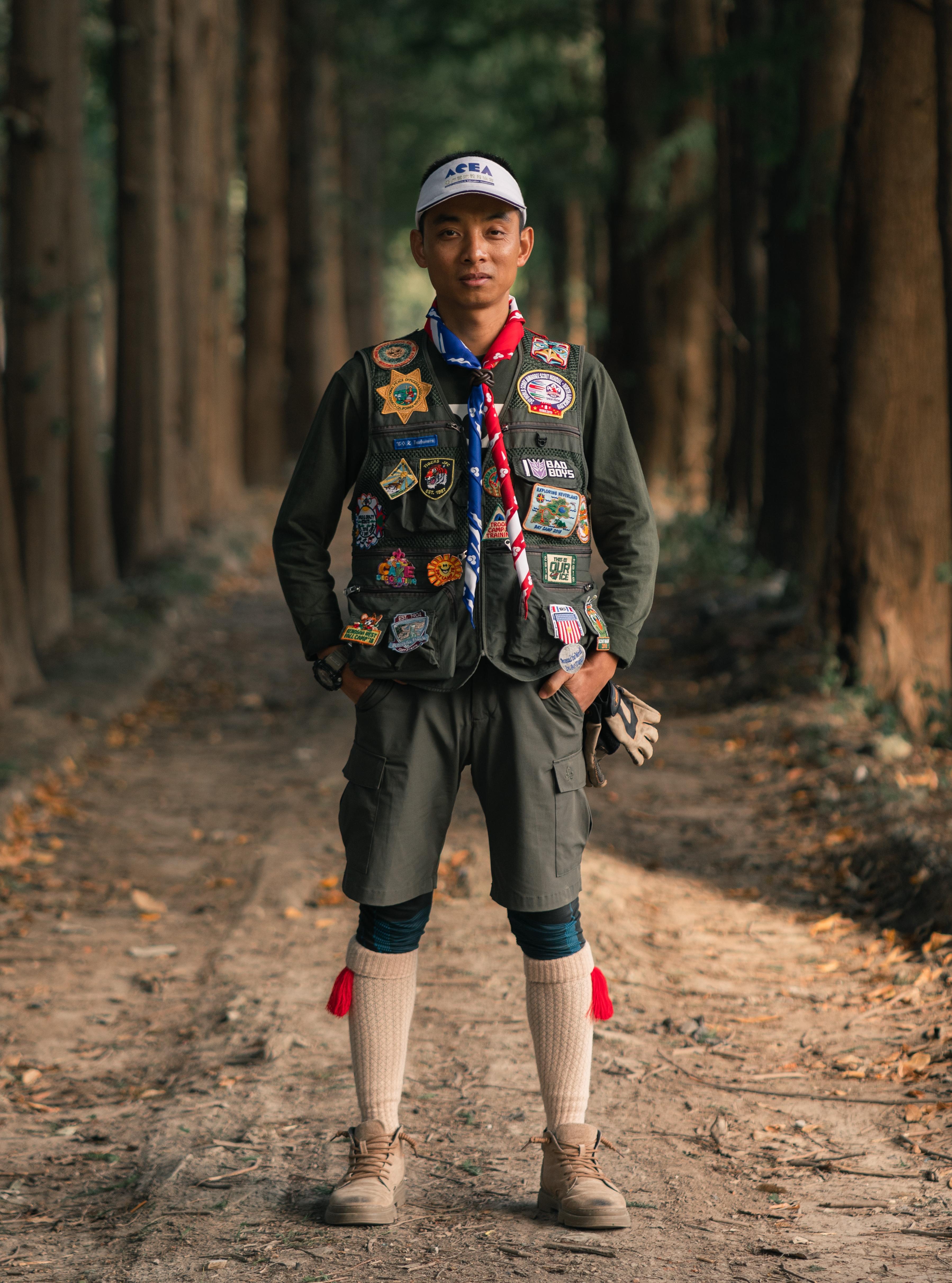 Le camp forestier prend le feu de l'éducation