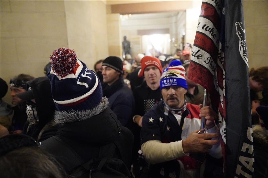 US Senate finds 'broad failings' over insurrection