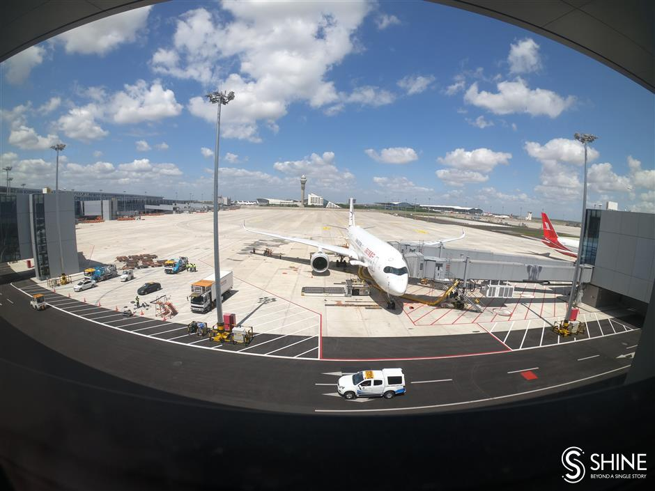 City to cement global air hub with Nantong airport