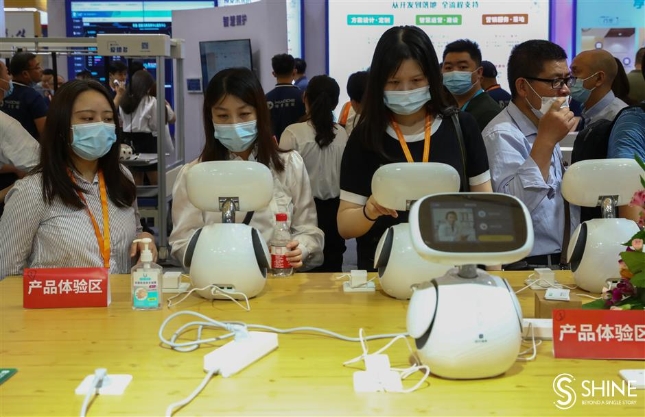 China Aid features devices making life easier