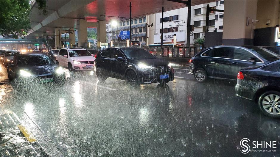 'Plum rain' season arrives in city a week early
