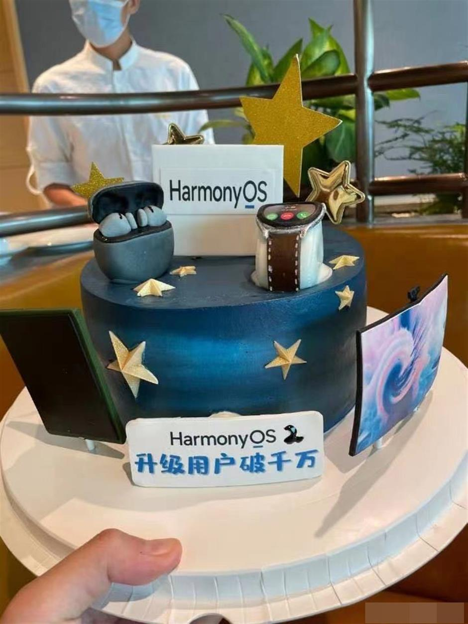 Over 10 million upgrades to HarmonyOS in a week
