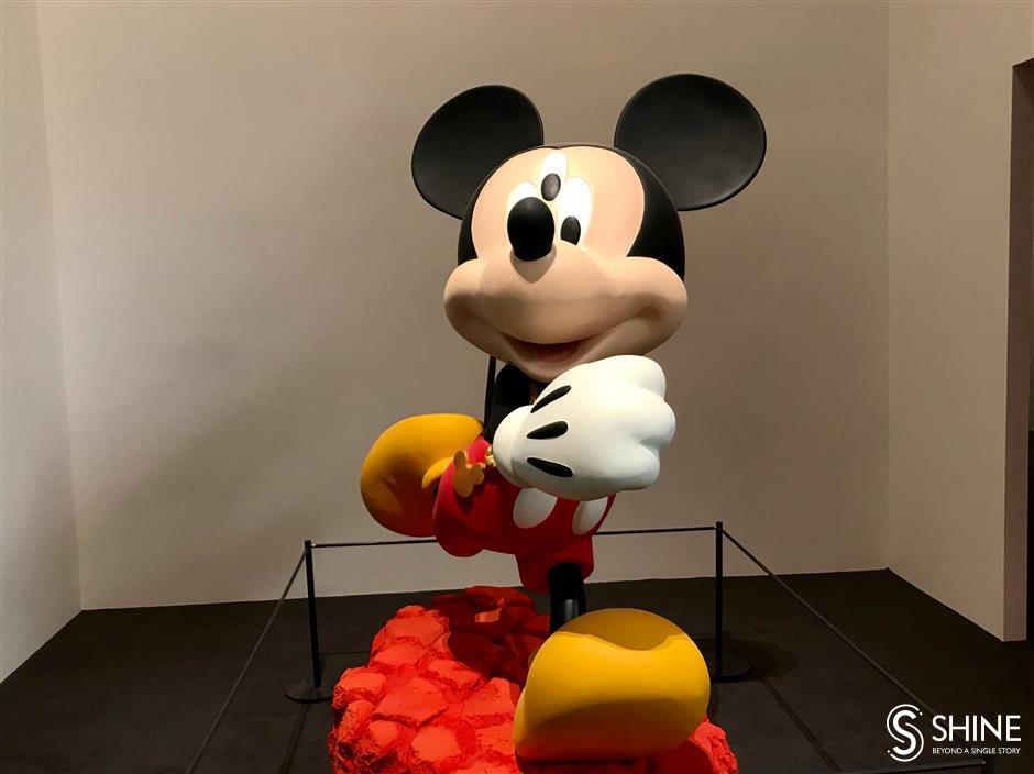 It's time to Mickey Mouse around at Yuz Museum