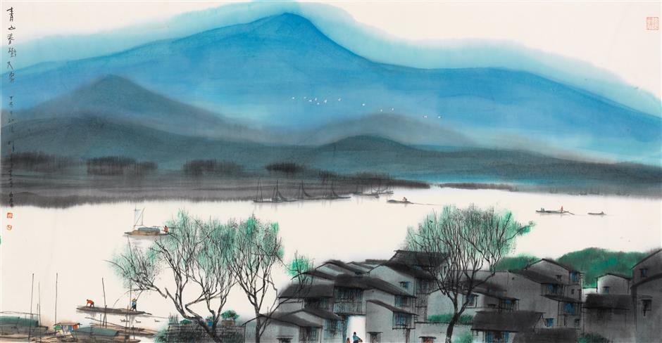 Suzhou art exhibition on show at Shanghai Chinese Painting Academy