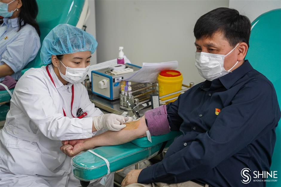 Medics step up to donate blood on World Blood Donor Day