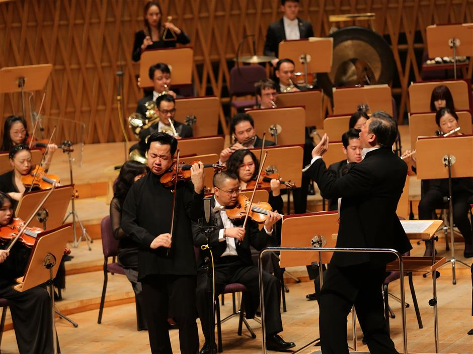 Celebrated violinist helps SSO end season on a high note