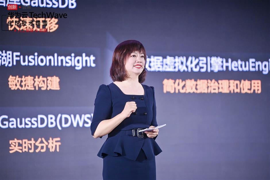 Huawei accelerating cloud development with data and AI