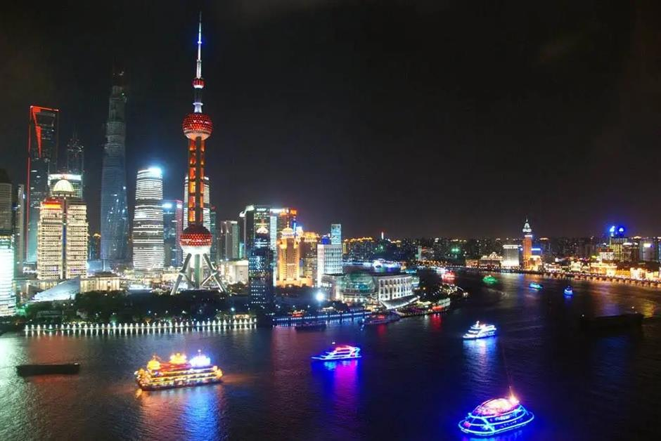 Shanghai comes alive at night once again